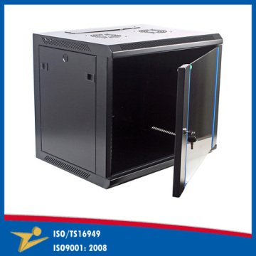High Demand Perforated Locking Box Rack Mount Cabinet