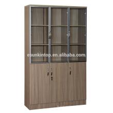 Деревянная книжная полка для офиса, Коммерческая офисная мебель (KB843)