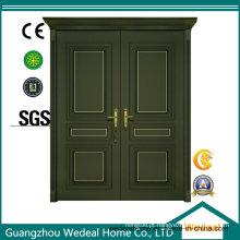 Porta de madeira composta de MDF pintada / laca