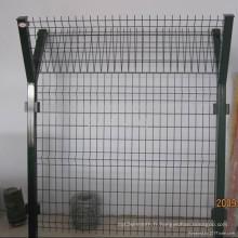 Clôture de treillis soudé d'exportation d'usine fabriquée en Chine