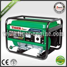 LPG GENERATOR SETS ISO9001 LPG4500E 3.5KVA
