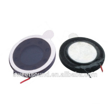 dongguan supplier wholesale 13mm 16ohm piezoelectric speaker mini digital speaker