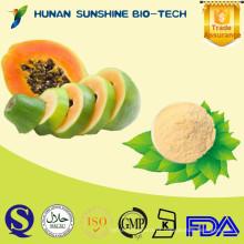 100% Natural Dairy Free Sem adição de açúcar, conservantes ou sabores artificiais Papaya Farinha
