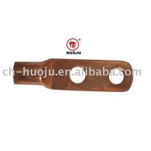 Cosses à sertir en cuivre (corps court, 2 trous)