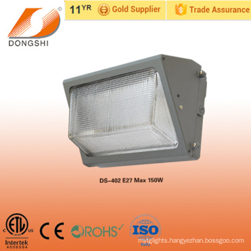 Low price outdoor light plastic wall pack light 6500K IP65