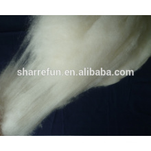 High Quality Dehaired Inner Mongolian cashmere fiber Nature White