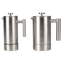 Neues Design French Press Kaffeemaschine