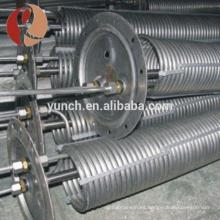 bobina de enfriamiento pura del titanio gr2 para el cambiador de calor