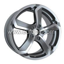 17「銃金属カスタム スタイル アルミニウム合金車輪の縁