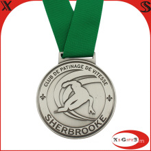 2014 Club Ski Silver Medal with Embossing Logo