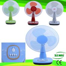 16 Inches AC110V AC Fan Colorful Table Fan Desk Fan (SB-T-AC40O)