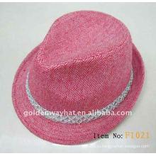 Модная войлочная шляпа для женщин