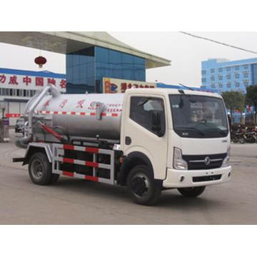Dongfeng Small 3CBM Sewage Suction Truck