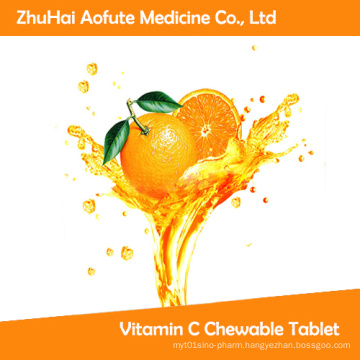 Hot Sale Vitamin C Chewable Tablet