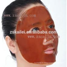 masque facial de fines herbes de collagène