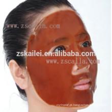 máscara erval facial do cristal do colagénio