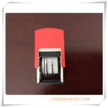 Selbstklebende Roller Datum Stempel für Werbegeschenke (OI36011)