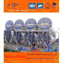 Melhor Fornecedor Atacado Ventilação Torre PVC Tarpaulin