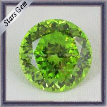 Zirconia cúbica verde de Apple de la alta calidad de la nueva manera
