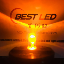 LED jaune 5mm jaune ultra-brillant 595nm