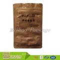 Bolsos de café modificados para requisitos particulares flexibles de aluminio de la cremallera que se puede volver a sellar de la categoría alimenticia de la cremallera de la categoría alimenticia Malasia