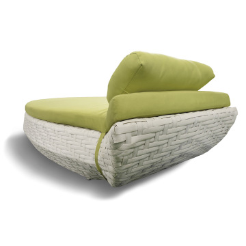 Special Design Single Outdoor Leisure Wicker Zonnebank