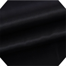 Poly/Cotton Garment Twill Black Fabric
