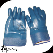 SRSAFETY nitrile full impregnated heavy duty glove, safety glove