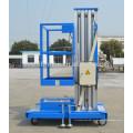 Elevador de alumínio pessoal do mastro da plataforma de trabalho do elevador para a única pessoa com CE e certificado do ISO
