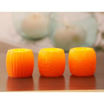 OEM China High quality for Christmas Candles decorative candle Craft Candle export to Spain Wholesale