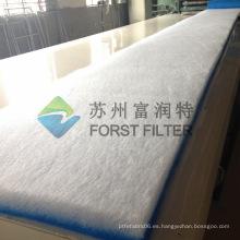 FORST Material de filtro, rodillos de fibra de vidrio Material de filtro de polvo