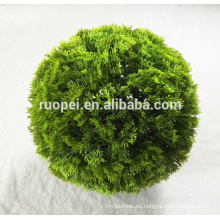 venta superior plástico entrega topiary bolas para la decoración