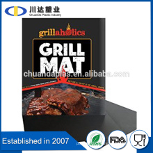 Hot selling FDA LFGB certificate non stick surface easy to use bbq grill mat, as seen on TV non stick BBQ grill mat set of 2                                                                         Quality Choice