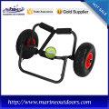 Aluminum cart carry for kayak/canoe/boat/surfboard, boat trailer