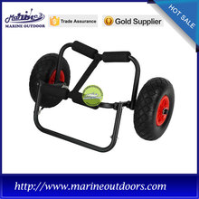 Aluminum cart carry for kayak/canoe/boat/surfboard, boat trailer