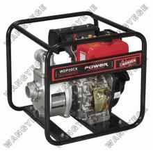L'eau pompe sertie de 2 pouces, 4.2PS, moteur Diesel, cylindre simple, course 4 et démarrage manuel