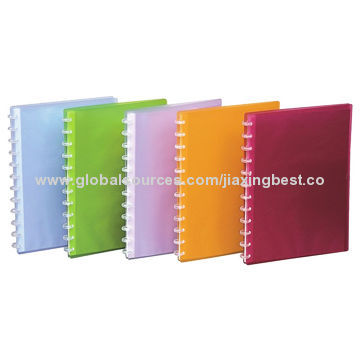 Hot Sale Clear Books, Available in Various Colors, OEM Orders Welcomed