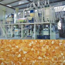 grande projeto venda quente Africano mercado automático de milho máquina de moagem de farinha de milho para venda