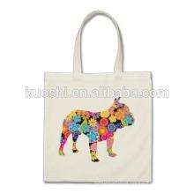 printed canvas tote backpack bag