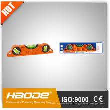 Instrumentos de medición de nivel / Mini nivel / Puente estilo niveles de alcohol / Heavy Duty Cast Aluminio Niveles