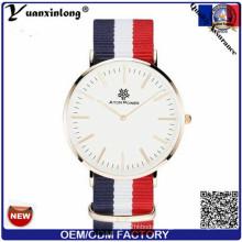 Yxl-518 Manufacturer Direct Sale Fashion Custom Nato Band Watch Nylon Strap Watches Wrap Bracelets Watch