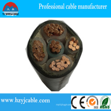 Power Cable Types Copper/Al/ XLPE/PVC Sheath XLPE Power Cable