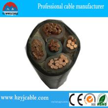 Типы силового кабеля Медный / алюминиевый / XLPE / ПВХ оболочка Силовой кабель XLPE