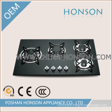 4 Burners Kitchen Gas Cooker Built in Gas Hob