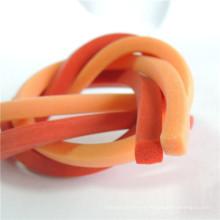 Cordon de caoutchouc silicone en forme carrée