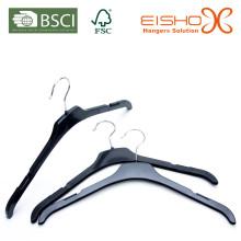 Дешевая и легкая черная пластиковая верхняя вешалка