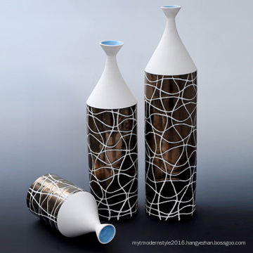 China High Quality Best Price Round Ceramic Vase Bottle (PS169)