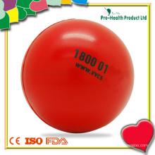 Funny Mini Round Shape Stress Ball Toy para crianças