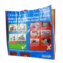 Cheap extra large cheap pp woven shopping bags custom logo