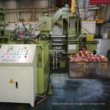 Horizontale Schrott-Dreh-Brikett-Herstellungsmaschine